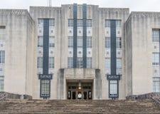 Warren County Courthouse på Vicksburg Mississippi Arkivfoton