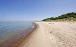 warren d'état de stationnement de dunes Image libre de droits