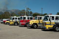 warren firetrucks графа Стоковая Фотография RF