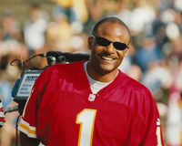 Warren Moon Kansas City Chiefs Stock Photo
