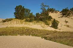 Warren Sand Dunes Royalty Free Stock Images