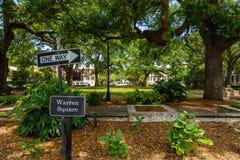 Warren Square Savannah Royalty Free Stock Photography