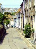 The Warren, St. Ives, Cornwall. The Waren runs Parallel to the sea and is part of the coastal footpath at St. Ives, Cornwall, UK Stock Photo