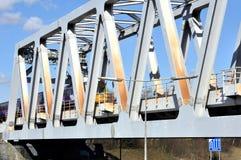 Warren Truss Type Railway Bridge Royalty Free Stock Photography