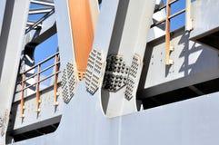Warren Truss Type Railway Bridge Royalty Free Stock Photos