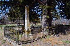 Warrensburg,密苏里南北战争时代坟墓01 免版税库存图片
