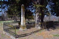 Warrensburg, могила 01 эры гражданской войны Миссури стоковые изображения rf