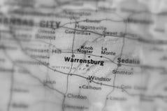 Warrensburg, miasto w U S obrazy stock