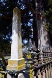 Warrensburg, Missouri Civil War Era Grave 02 stock photography