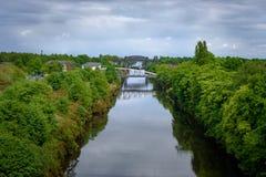 Warrington, Cheshire - Großbritannien Stockbild