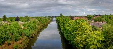 Warrington Cheshire Großbritannien Lizenzfreie Stockbilder