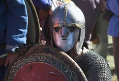 Warrior. Image of a medieval warrior Royalty Free Stock Photos