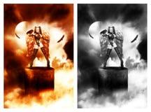 She Warrior royalty free illustration