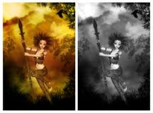 She Warrior Royalty Free Stock Photo