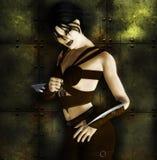 She warrior stock illustration
