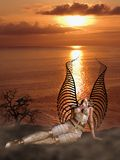 Warrior Angel Royalty Free Stock Photography