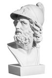 Warrior& antique x27 ; tête de s dans un casque Images stock