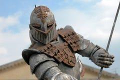 Warrior Armour, Verona, Italy, May 2004. A powerful armour showed near Verona Arena Stock Photography