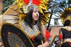 Warrior Cariwest Dancer Royalty Free Stock Photo