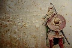 Warrior grunge background Stock Photography