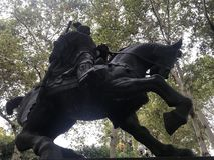 Warrior on Horseback royalty free stock images