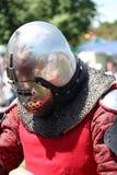 Warrior In Helmet Stock Photos