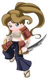 Warrior Kid Royalty Free Stock Photo