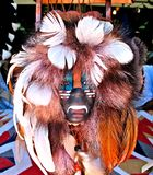 Warrior mask Royalty Free Stock Images