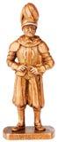 Warrior miniature statuette Stock Photography