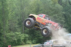 Warrior Monster Big Truck Royalty Free Stock Photography