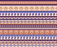 Warrior pattern Royalty Free Stock Photo