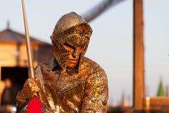 Warrior, Piazza San Marco, Venice, Italy Royalty Free Stock Photography