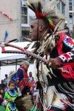 Warrior Pow-wow dancer  Royalty Free Stock Photos