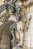 Warrior Sculpture Stock Photo