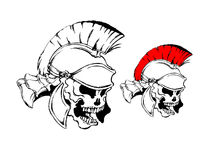 Warrior Skull Stock Photos