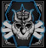 Warrior skull Stock Photo