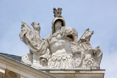 Warrior, statue, the Palace of the Dukes Dijon, Burgundy, France Royalty Free Stock Photo
