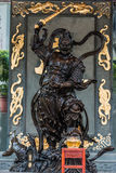 Warrior statue Sik Sik Yuen Wong Tai Sin Temple Kowloon Hong Kon Stock Photography