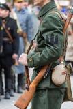 Warrior of the Ukrainian Army Royalty Free Stock Photo