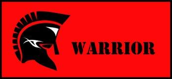Warrior. warrior head. Stock Photography