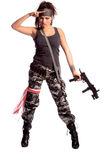 Warrior Woman Royalty Free Stock Photo