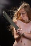 Warrior woman Stock Photography