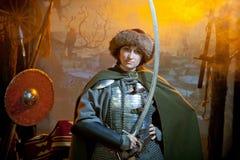 Warrior woman Stock Photos