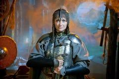 Warrior woman Royalty Free Stock Photos