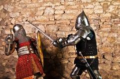 Warriors fighting Stock Photo