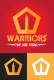 Warriors Logo Stock Photo