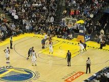Warriors Stephen Curry takes free throw shoot Royalty Free Stock Photos