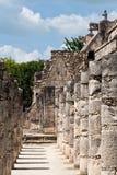 Warriors Temple Chichen Itza Mexico Royalty Free Stock Photos