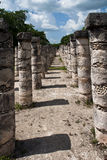 Warriors Temple Chichen Itza Mexico Stock Image