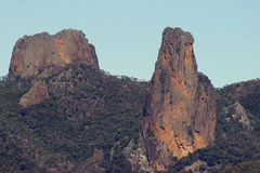 Warrumbungles. National Park Warrumbungle National Park is a heritage listed national park located in the Orana region of New South Wales, Australia. The royalty free stock images